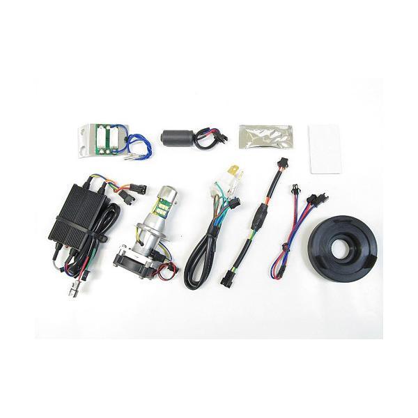 即納 プロテック スーパーカブ110['12〜'17 JA10]専用 LEDヘッドライトバルブキット LB4-SC HS1 Hi/Lo 6000K 65024|terranet