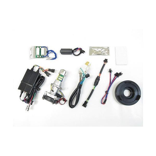 即納 プロテック スーパーカブ110['12〜'17 JA10]専用 LEDヘッドライトバルブキット LB4-SC HS1 Hi/Lo 6000K 65024|terranet|02