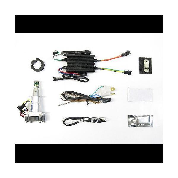 プロテック CBF600S / CBR600RR / YZF-R25 / Ninja1000 / Ninja650等用 LEDヘッドライトバルブキット LB7W-H H7 Hi/Lo 6000K ※Hiビーム側専用 65030|terranet|02