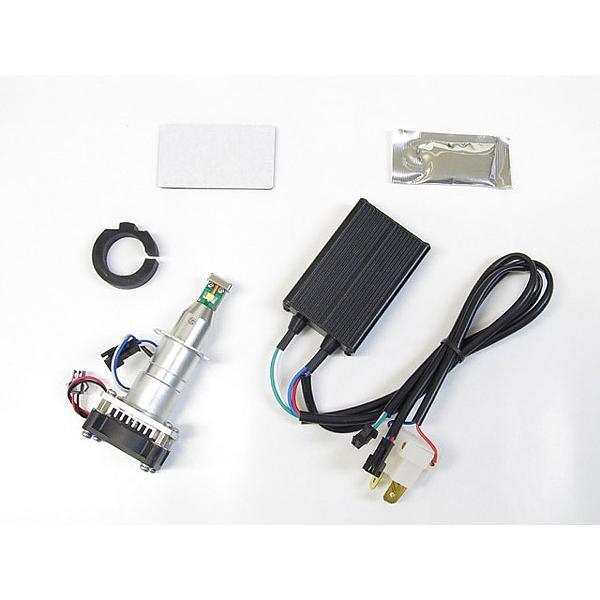 プロテック CBF600S / CBR600RR / Ninja1000 / Ninja650 / Ninja400 / YZF-R25等用 LEDヘッドライトバルブキット LB7-S3 H7 3000K 65045|terranet