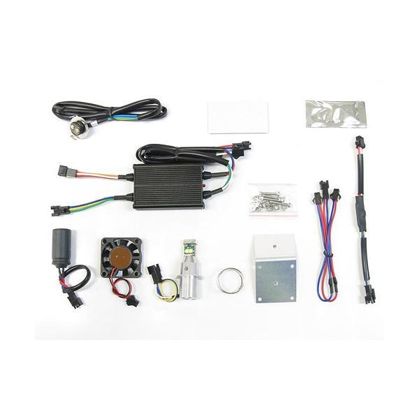 プロテック 汎用(Mio125MotoGP / KSR用) LEDヘッドライトバルブキット LB7-ML PH7(PH7ソケットタイプ) 6000K 65048|terranet