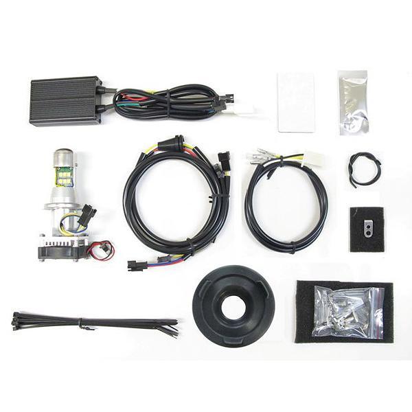 プロテック スポーツスターXL1200/XL883、XL1200Xフォーティーエイト、XL1200Vセブンティーツー用 LEDヘッドライトバルブキット LB4-XL6 H4Hi/Lo 6000K 65050-60|terranet