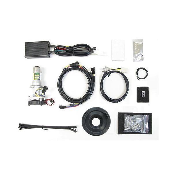 プロテック スポーツスターXL1200/XL883、XL1200Xフォーティーエイト、XL1200Vセブンティーツー用 LEDヘッドライトバルブキット LB4-XL6 H4Hi/Lo 6000K 65050-60|terranet|02