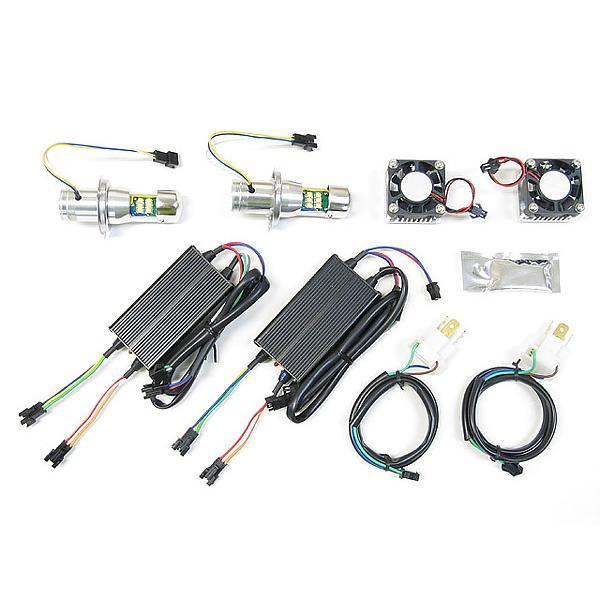 プロテック 自動車用 LEDヘッドライトバルブキット LB4-C H4 Hi/Lo 6000K 65051 terranet