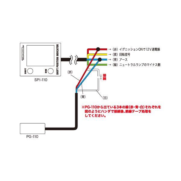 プロテック PG-110 パルスジェネレーター (スピード信号変換機) 11015 [SPIシリーズ・WACシリーズ用 オプションパーツ]|terranet|02