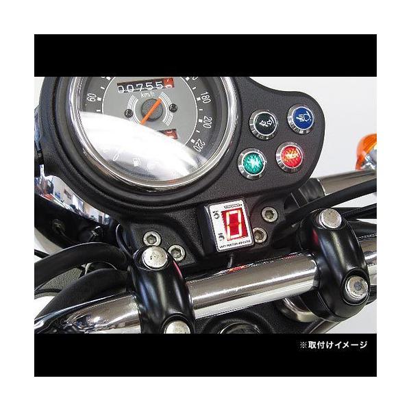 即納 プロテック SPI-I81 トライアンフ ボンネビル['09〜 SMTTJ9107]専用 シフトポジションインジケーター(シフトインジケーター) 11089 terranet 02