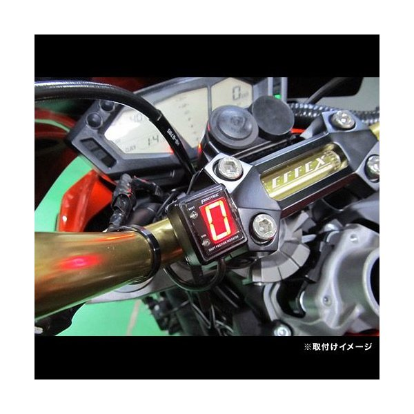 即納 プロテック SPI-K47 Z800 [ZR800 '13〜'16]専用 シフトポジションインジケーター(シフトインジケーター) 11352|terranet|02