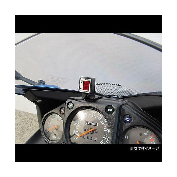 即納 プロテック SPI-K61 Ninja250R [JBK-EX250K '08〜'12]専用 シフトポジションインジケーター(シフトインジケーター) 11057|terranet|02