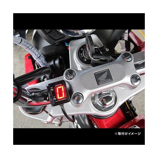 即納 プロテック SPI-M16 モンキー125/ABS ['18〜 2BJ-JB02]専用 シフトポジションインジケーター(シフトインジケーター) 11387|terranet|02