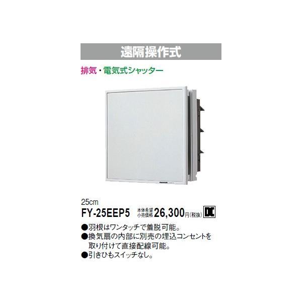 電材商品電気式シャッターインテリア形換気扇[羽根径25cm]FY-25EEP5あすつく|terukuni
