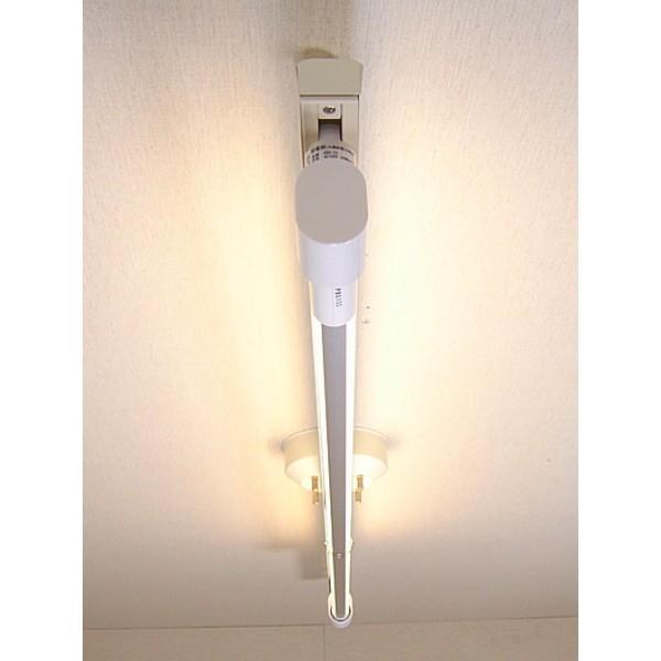 KRS-1A-WH-SET-L カメダレールソケットS 電球色LEDランプセット  配線ダクト用LEDベースライト1灯タイプ  カメダデンキ|terukuni|02