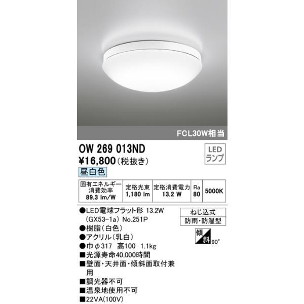 バスルームライトバスルームライト[LED昼白色]OW269013NDあすつく|terukuni