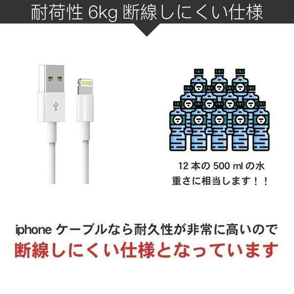 Apple純正ケーブル iPhone 充電ケーブル 0.5m 1m 1.5m 2m 3m アップル公式 MFI認証済 Foxconn製 ライトニングケーブル teruyukimall 05