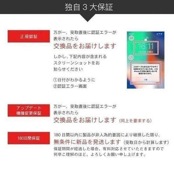 Apple純正ケーブル iPhone 充電ケーブル 0.5m 1m 1.5m 2m 3m アップル公式 MFI認証済 Foxconn製 ライトニングケーブル teruyukimall 08