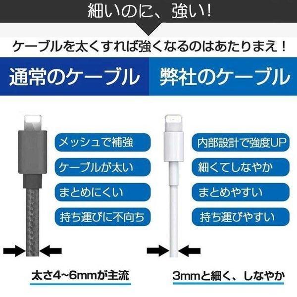 Apple純正ケーブル iPhone 充電ケーブル 0.5m 1m 1.5m 2m 3m アップル公式 MFI認証済 Foxconn製 ライトニングケーブル teruyukimall 10