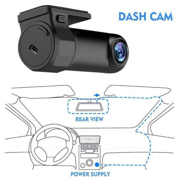 AGM ドライブレコーダー WIFI ドラレコ Gセンサー内蔵 駐車監視 スマホ連動ドラレコ 音声録音 サイクル録画 ループ録画 170度広角 360度 小型軽量|teruyukimall|12