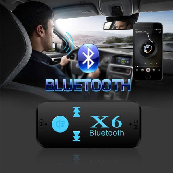 Bluetooth レシーバー 車載 オーディオ 音楽プレーヤー ハンズフリー 通話 3.5mm USB iPhone Android スマートフォン対応 TFカード対応可能|teruyukimall|03
