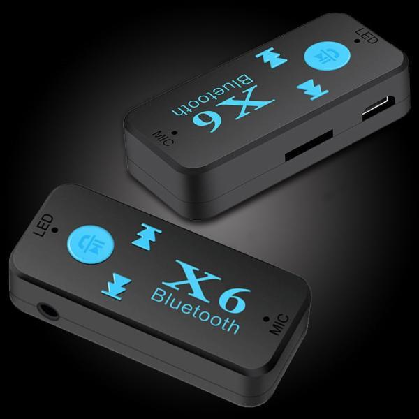 Bluetooth レシーバー 車載 オーディオ 音楽プレーヤー ハンズフリー 通話 3.5mm USB iPhone Android スマートフォン対応 TFカード対応可能|teruyukimall|06