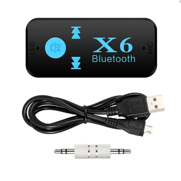 Bluetooth レシーバー 車載 オーディオ 音楽プレーヤー ハンズフリー 通話 3.5mm USB iPhone Android スマートフォン対応 TFカード対応可能|teruyukimall|09