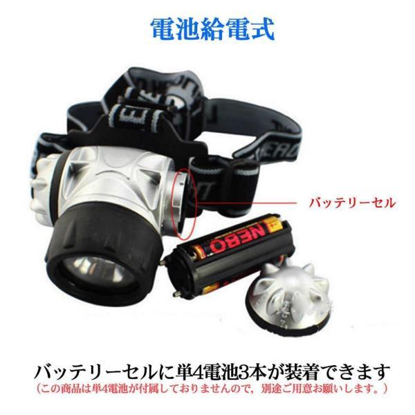 ヘッドライト 電池式 超強力 LED ヘッドランプ 釣り 登山 アウトドア キャンプ 登山 センサー 単四電池 停電対策|teruyukimall|05