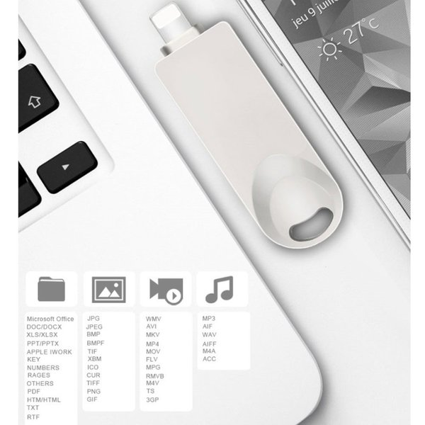 USB3.0メモリ 128GB ライトニング USBメモリ フラッシュメモリ iPad iPod Mac用 スマホ用 USB iPhone iPad USBメモリー 128GB Lightning micro USB対応 人気商品|teruyukimall|08