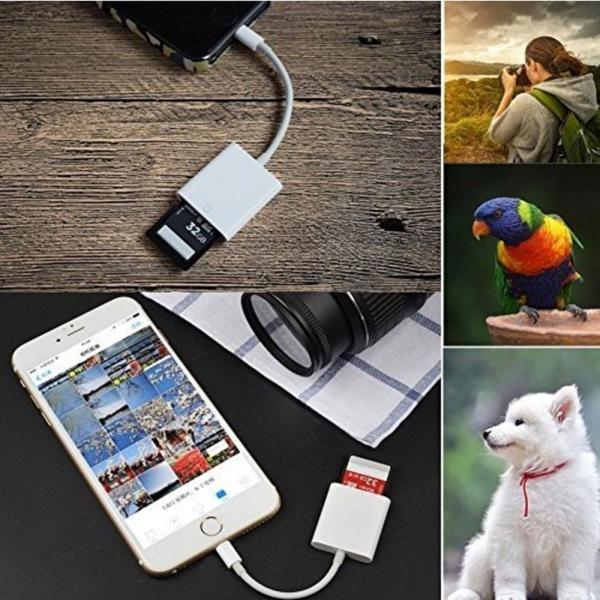 iPhone iPad 専用 Lightning SDカードカメラリーダー IOS専用 iPad iPhone X/8 plus/8/7 plus/7対応 microメモリSDカードリーダー(アップグレード版) teruyukimall 07