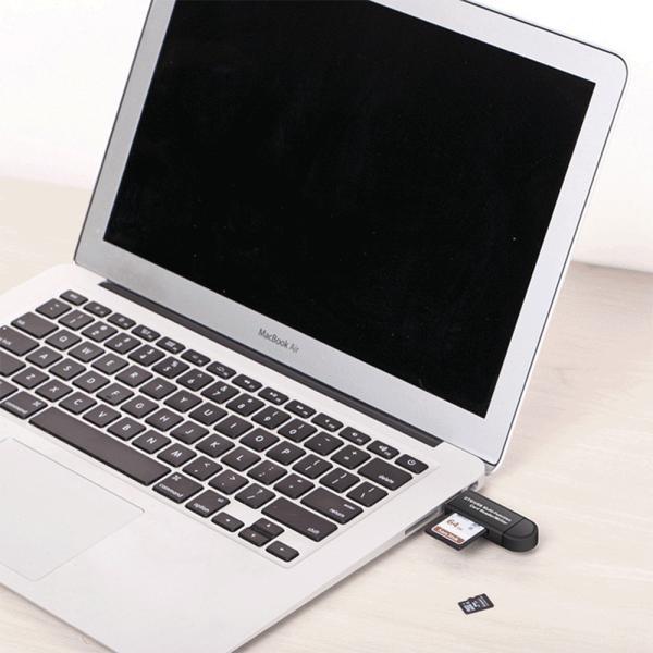 SDカードリーダー USB メモリーカードリーダー MicroSD マルチカードリーダー SDカード android スマホ タブレット teruyukimall 05