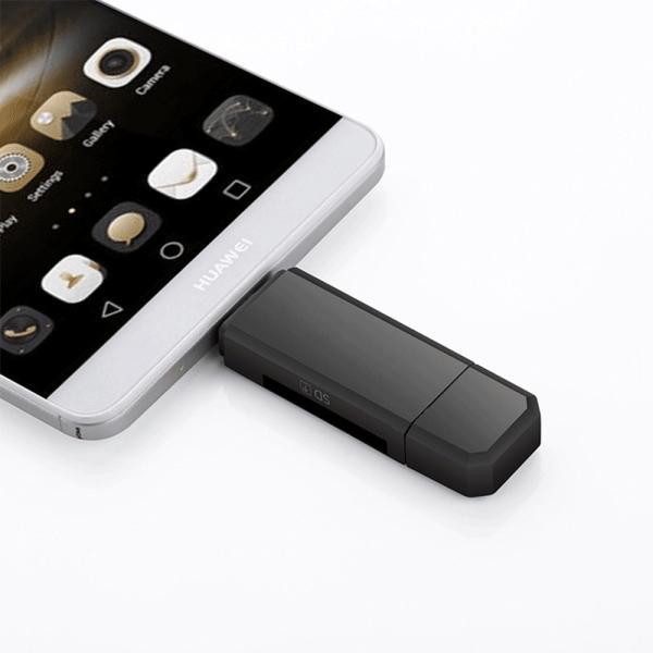SDカードリーダー USB メモリーカードリーダー MicroSD マルチカードリーダー SDカード android スマホ タブレット teruyukimall 06