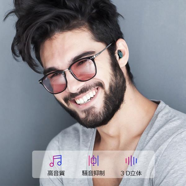 ワイヤレスイヤホン ブルートゥースイヤホン Bluetooth 5.0 左右分離型 自動ペアリング IPX8完全防水 両耳通話 スマホも充電 4000mAh 大容量|teruyukimall|04