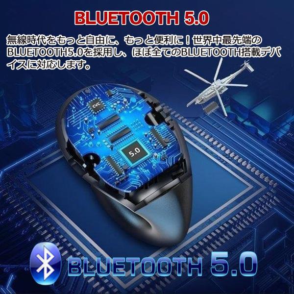 ワイヤレスイヤホン bluetooth5.0 イヤホン 骨伝導 高級 片耳用 iPhone android アンドロイド スマホ 高音質 音楽 耳かけ型|teruyukimall|07