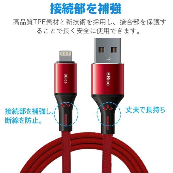 Apple純正ケーブル iPhone 充電ケーブル 0.5m 1m 1.5m 2m 3m アップル公式 MFI認証済 Foxconn製 ライトニング ケーブル teruyukimall 11