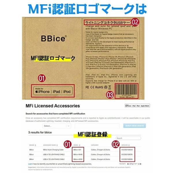Apple純正ケーブル iPhone 充電ケーブル 0.5m 1m 1.5m 2m 3m アップル公式 MFI認証済 Foxconn製 ライトニング ケーブル teruyukimall 05