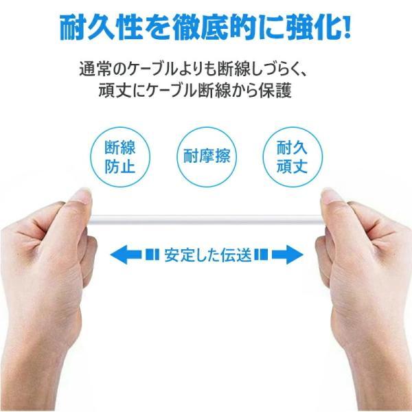 Apple純正ケーブル iPhone 充電ケーブル 0.5m 1m 1.5m 2m 3m アップル公式 MFI認証済 Foxconn製 ライトニング ケーブル teruyukimall 07