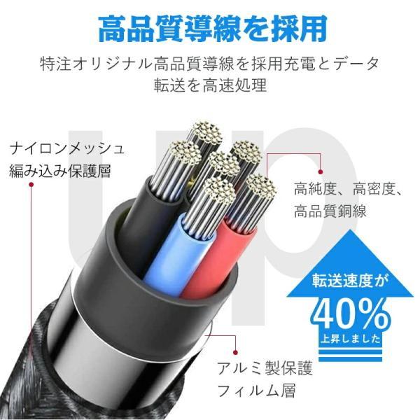 Apple純正ケーブル iPhone 充電ケーブル 0.5m 1m 1.5m 2m 3m アップル公式 MFI認証済 Foxconn製 ライトニング ケーブル teruyukimall 10