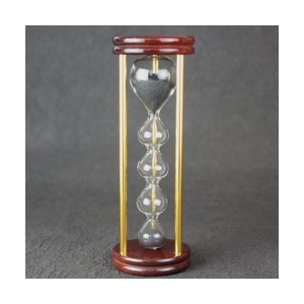 砂時計 3分 フレンチサンドグラス おしゃれ 木製 金子硝子工芸 日本製