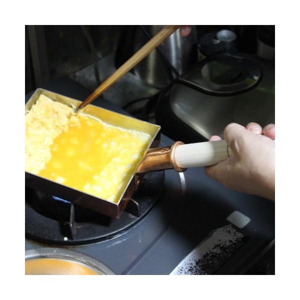 卵焼き器 フライパン 銅 日本製 12センチ 中村銅器製作所|teshigotohompo|02