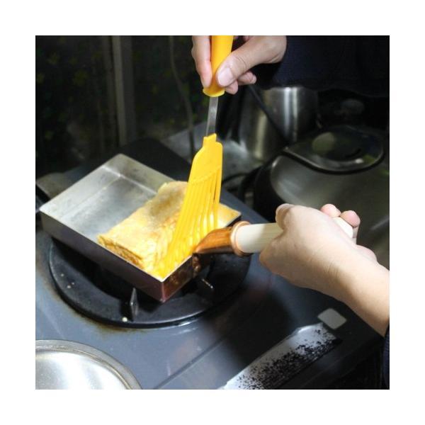 卵焼き器 フライパン 銅 日本製 12センチ 中村銅器製作所|teshigotohompo|03