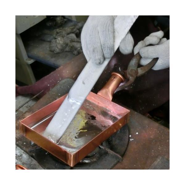卵焼き器 フライパン 銅 日本製 12センチ 中村銅器製作所|teshigotohompo|05