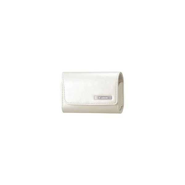 (まとめ)キヤノン ソフトケース CSC-2WHホワイト 9767B004 1個〔×2セット〕