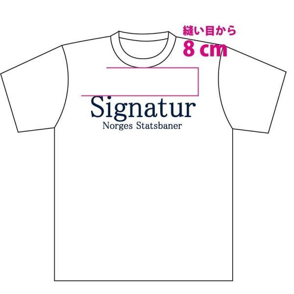 Tシャツ 鉄道グッズ 鉄道Tシャツ Signaturデザイン