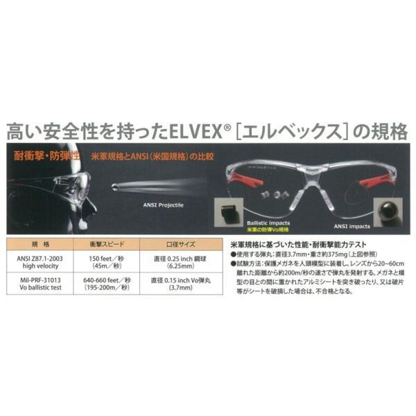 ELVEX エルベックス Go-Specsゴースペックス GG-45C-AF(クリア)安全メガネ 保護メガネ 防塵メガネ ゴーグル グラス|tetsusizai|02