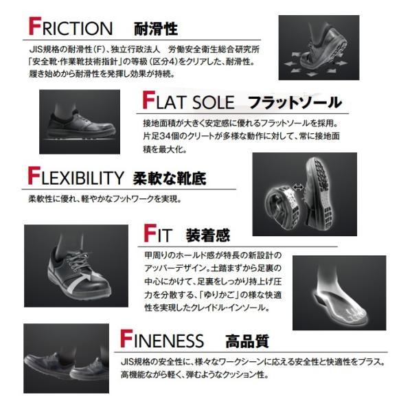 シモン 安全靴 WS11 ウォーキングセーフティ 短靴 tetsusizai 04