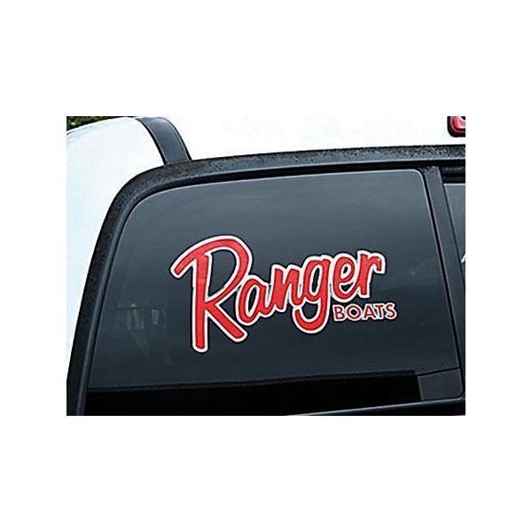 Ranger BOATS ビッグウィンドウデカール(A) バスフィッシング 釣り アメリカ雑貨 アメリカン雑貨|texas4619