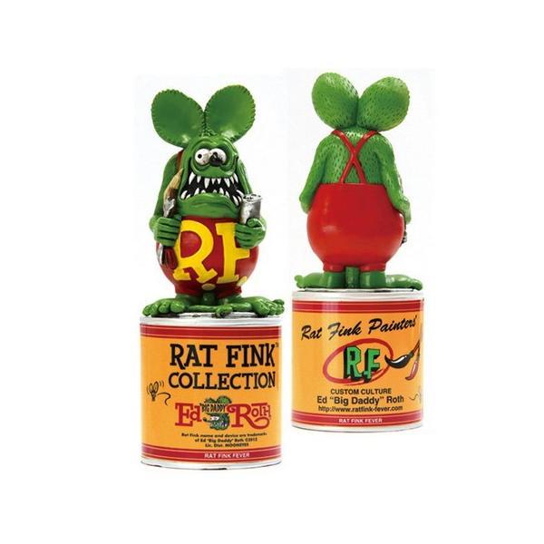 ラットフィンク ペイント缶スタチュー RAT FINK フィギュア アメリカ雑貨 アメリカン雑貨|texas4619|02