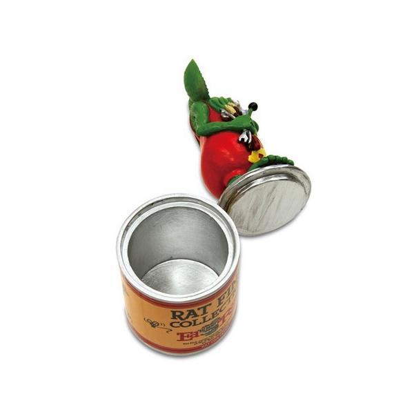 ラットフィンク ペイント缶スタチュー RAT FINK フィギュア アメリカ雑貨 アメリカン雑貨|texas4619|04