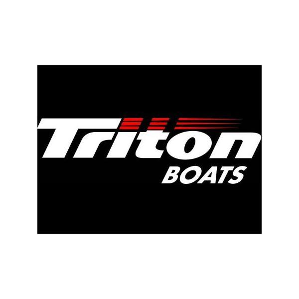 Triton BOATS ビッグデカール ステッカー バスフィッシング 釣り アメリカ雑貨 アメリカン雑貨 texas4619
