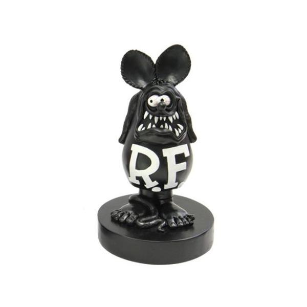 ラットフィンク ボビングドール(M SIZE) ブラック RAT FINK フィギュア アメリカ雑貨 アメリカン雑貨|texas4619