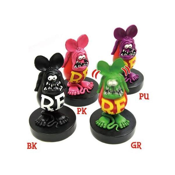 ラットフィンク ボビングドール(M SIZE) ブラック RAT FINK フィギュア アメリカ雑貨 アメリカン雑貨|texas4619|03