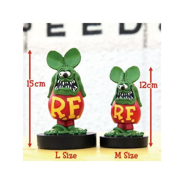 ラットフィンク ボビングドール(M SIZE) ブラック RAT FINK フィギュア アメリカ雑貨 アメリカン雑貨|texas4619|04