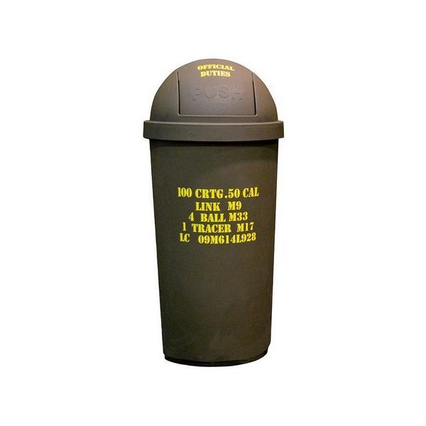 アメリカン45Lダストボックス(ARMY LOOK) ごみ箱 アーミー インテリア アメリカ雑貨 アメリカン雑貨|texas4619